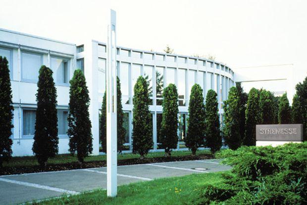 Strenesse-Firmengebäude in Nördlingen