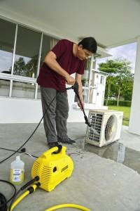 Der Klimaanlagen-Reiniger K2.420 AirCon wurde besonders für den asiatischen Markt entwickelt.