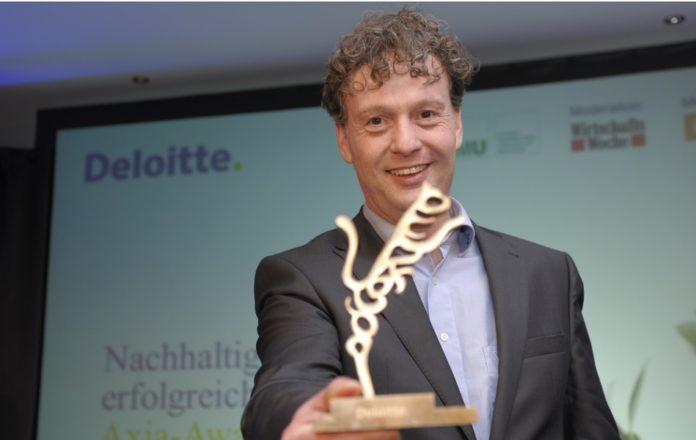 Einer der Preisträger für nachhaltige Unternehmensführung: Sven Bauer von BMZ.