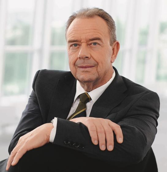 Hans-Volker Stahl führt die R. Stahl AG in der fünften Generation.