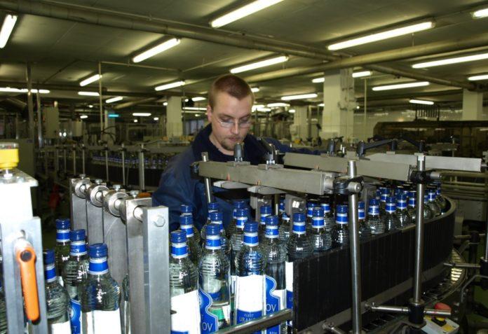 Produktion von Spirituosen bei Schilkin
