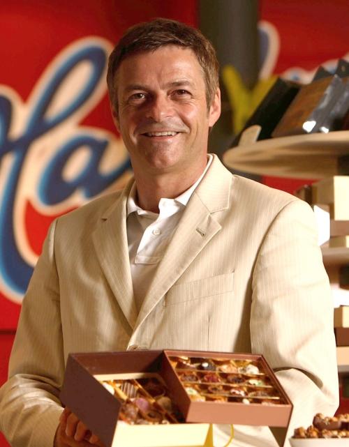 Klaus Lellé, Vorstandsvorsitzender der Halloren Schokoladenfabrik AG
