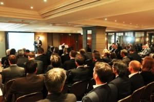 Führte in die Veranstaltung ein: Kai Matthias Liebe, Geschäftsführender Gesellschafter von LSG & Kollegen. (© LSG & Kollegen)