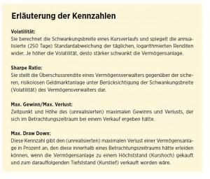 Relevante Kennzahlen für den VVAusweis (© Rödl & Partner)