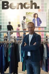 Bench CEO Bruno Sälzer: Mit 15 Prozent hat er sich am Unternehmen beteiligt.