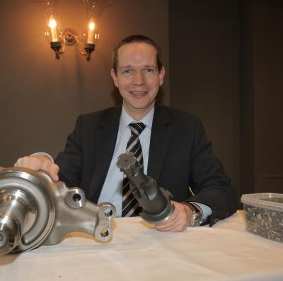 Begeisterung für Technik: Dr. Tobias Lührig, Geschäftsführer der Beinbauer Group.