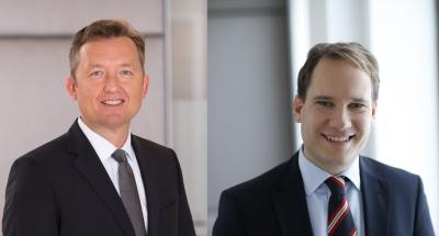 Eike Fietz und Dr. Stephan Appt. (© Pinsent Masons)