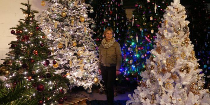 Christbäume zum Mieten: Anke Ohlenhoff macht Weihnachten leicht.