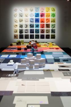 Farbenspiel: Aus mehr als 100.000 Papiervarianten können Kunden wählen.