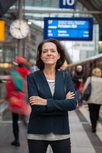Managerin und Gesellschafterin Jutta Marx: erst in der Geschäftsführung, dann Mitinhaberin.