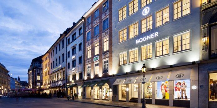 Bogner-Haus in München: Hier soll eine Erlebniswelt entstehen.