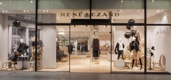 Boutique von René Lezard in München: Über ein Insolvenzverfahren sucht das Label seit Juni nach Investoren.
