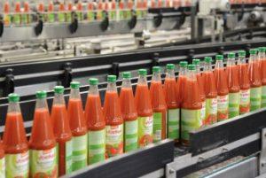 Bio-Tomatensaft vom Fließband: Voelkel profitiert vom Hype der vergangenen Jahre.