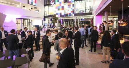 Open Space Club in der Microsoft-Zentrale: 50 Mittelständler und 50 Start-ups kamen sich näher.