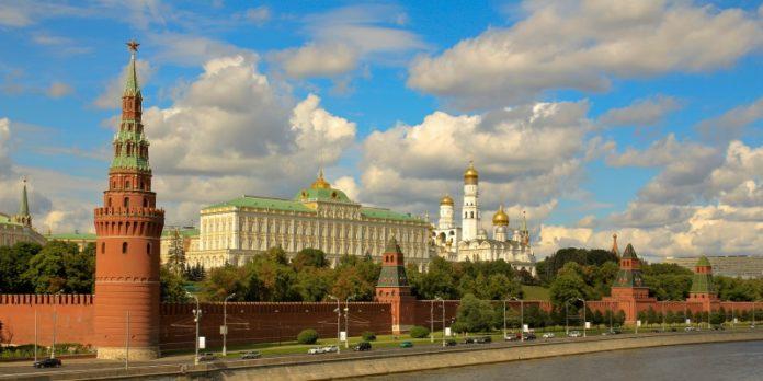 Der Kreml in Moskau: In Russland gibt es nach wie vor Bedarf nach deutschen Produkten.