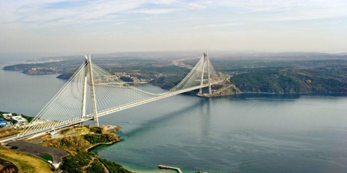 Yavuz Sultan Selim Brücke über den Bosporus in Istanbul: Ein guter Teil des Booms ist ber staatliche Maßnahmen getrieben.