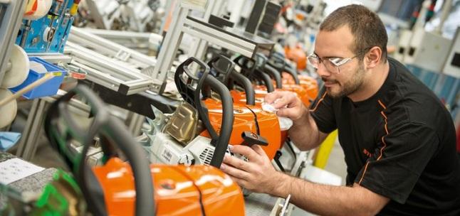Motorsägenhersteller Stihl: Seit Jahrzehnten beteiligt er seine Mitarbeiter.