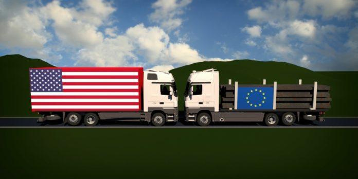Auf Kollisionskurs: Die USA und die EU provozieren beim Freihandel einen Crash.