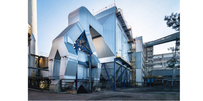 Eine Industrieanlage für Elektrofilter in Polen: Balcke-Dürr entwickelt Kraftwerkskomponenten.