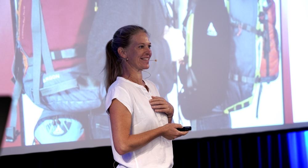 Antje von Dewitz von Vaude: Seit 2009 hat sie die Marke mit nachhaltigen Produkten neu positioniert.