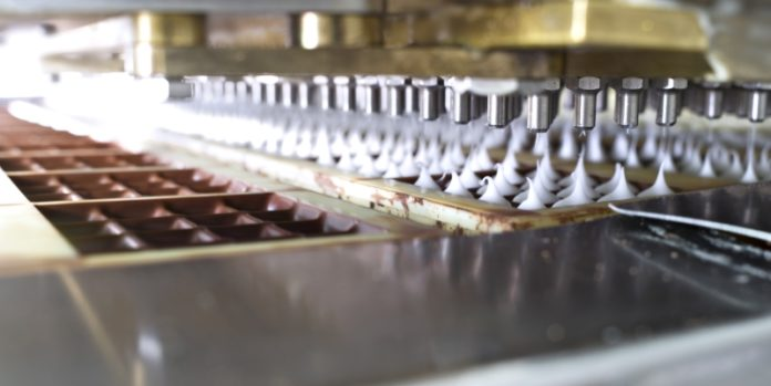 Produktion von Ritter Sport Schokolade: Das Umsatzwachstum bis 2025 soll vor allem aus dem Ausland kommen.