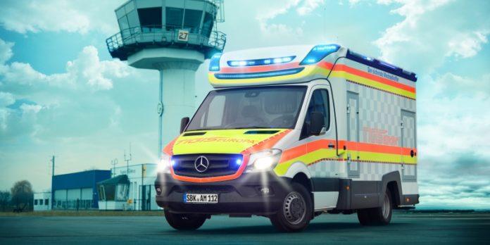 Rettungswagen von Ambulanz Mobile: Die Fahrzeuge waren ursprünglich für den Lieferverkehr gedacht und werden umgerüstet.