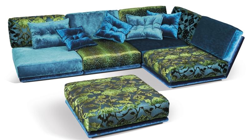 Modell Napali von Bretz: Inspiriert wurde das Sofa von der Napali-Küste auf Hawai und entworfen von den selbst ernannten Bretz Brothers.