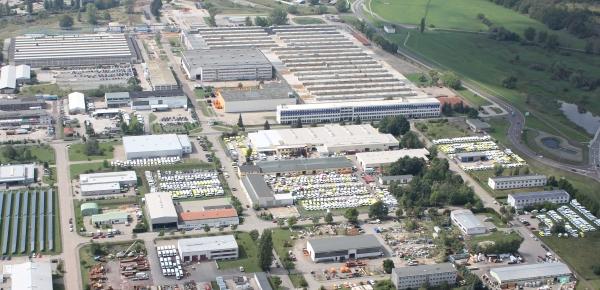 Werk von Ambulanz Mobile in Schönebeck: Kein Anziehungspunkt für Fachkräfte.
