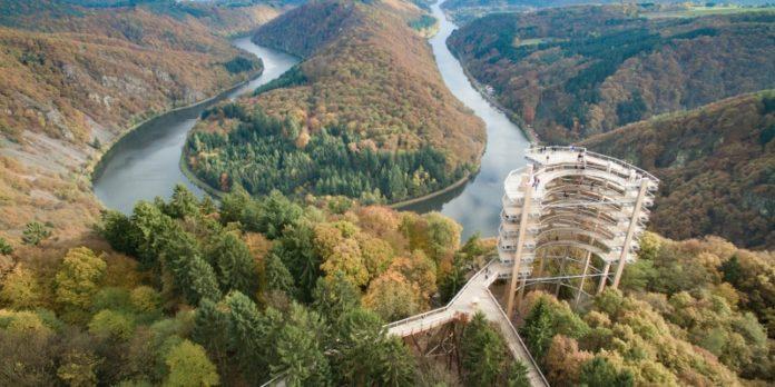 Saarschleife: Zwischen Natur- und Kulturlandschaft