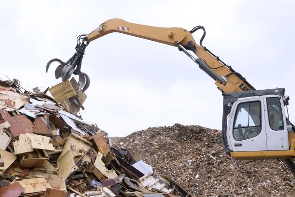 Nach der Aufteilung weiter im angestammten Geschäft: Für MRC sind Abfälle Sekundärrohstoffe. © MRC Mitteldeutsche Recycling GmbH
