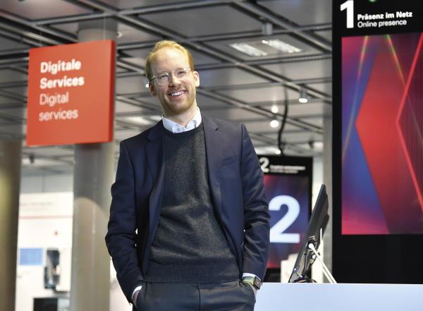 Nachfolger und Co-CEO Maximilian Viessmann: er gilt als Vorreiter der digitalen Transformation durch die NextGen. © Viessmann Werke GmbH & Co. KG