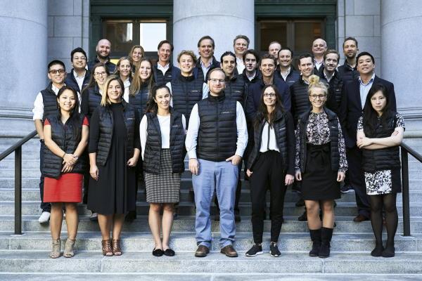 Das Team des VC-Fonds Eventures: Zahlreiche Familienunternehmen haben sich am Fundraising des neuen 400 Mio. US-Dollar Fonds beteiligt. © eventures Managementgesellschaft mbh