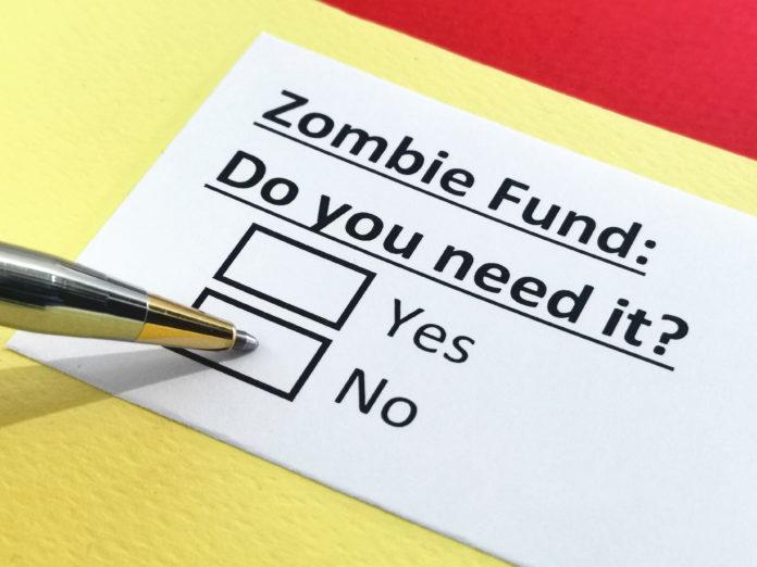 Starker Wachstum bei sogenannten Zombie-Unternehmen