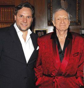 Sein letztes offizielles Interview: Playboy-Gründer Hugh Hefner empfing Florian Boitin 2011 in seiner Villa in Los Angeles.