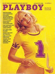 August 1972: In MÜnchen beginnen die Olympischen Spiele; fast zeitgleich fällt der Startschuss für die erste Ausgabe des deutschen Playboy.