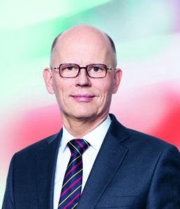 Dr. Johannes Schmidt, Vorstandsvorsitzender Indus Holding